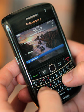 BlackBerry Outage - P 2011