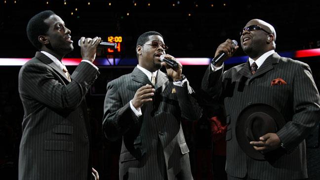 Boyz II Men National Anthem NBA - H 2011
