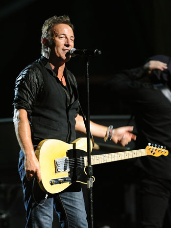 Bruce Springsteen Rock Roll Hall of Fame - P 2011