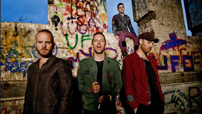 Coldplay publicity 2011