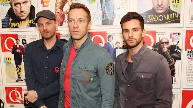 Coldplay Q Awards H 2011