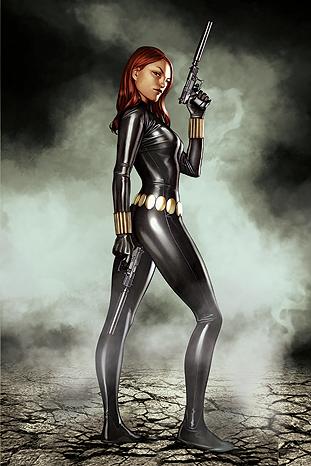 COMIC BOOKS: Black Widow