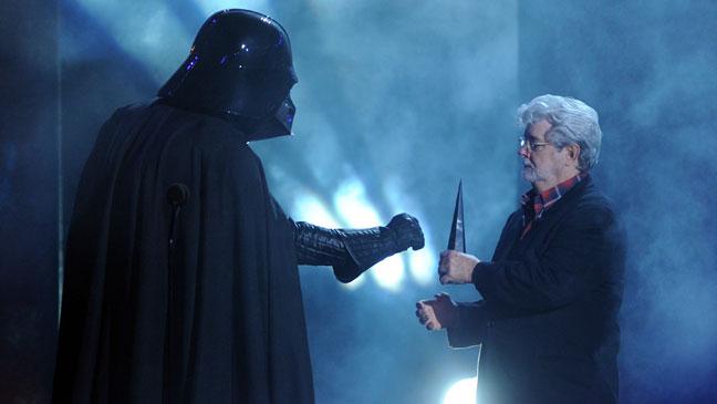 Darth Vader George Lucas Scream Awards - H