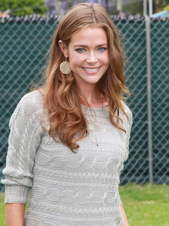 Denise Richards P 2011 Outside