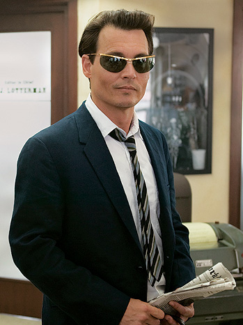 """Johnny Depp in """"The Rum Diary"""""""