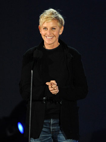 Ellen DeGeneres Clinton Foundation - P 2011