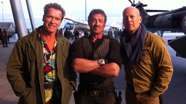 Expendables Set TwitPic - H 2011