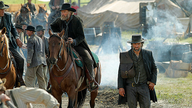 40 REV Hell On Wheels Ted Levine Anson Mount H