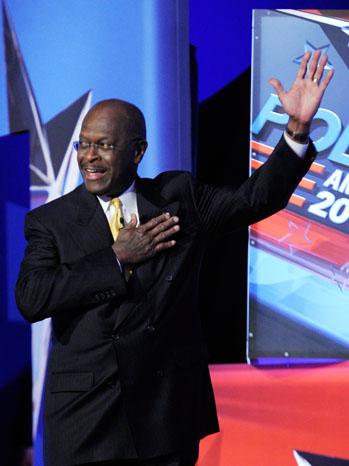 Herman Cain GOP Las Vegas - P 2011