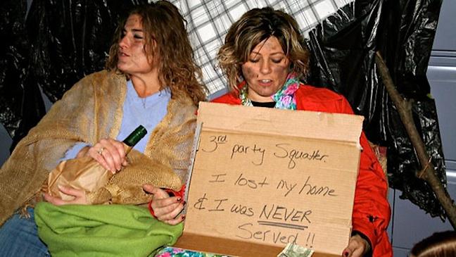Homeless Halloween Foreclosure H NYT