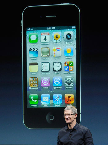Apple iPhone 4S Tim Cook