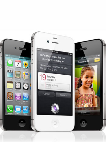 iPhone 4S Black White - P 2011