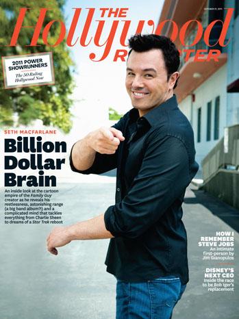 Issue 37 Cover Seth MacFarlane