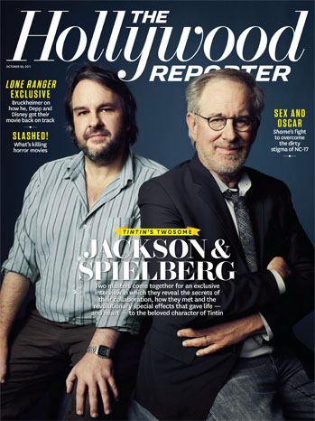 Issue 38 Cover Peter Jackson Steven Spielberg