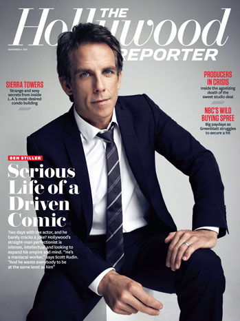 Issue 39 Cover Ben Stiller
