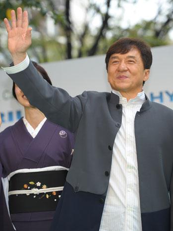 Jackie Chan - Tokyo Film Festival - 2011