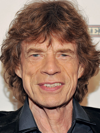 POWER LUNCH: Mick Jagger