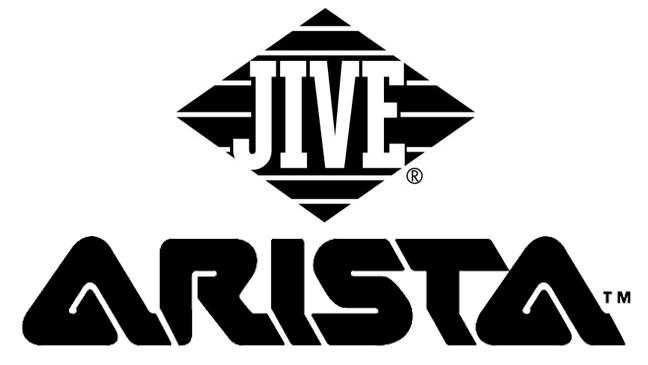 Arista Jive logos split