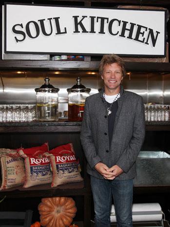 Jon Bon Jovi Rest Opening Soul Kitchen - P 2011