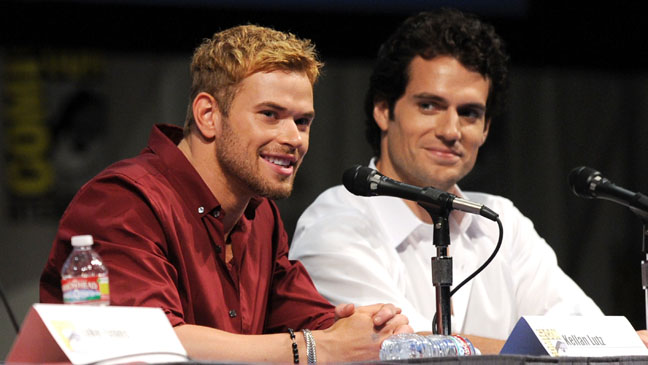 Kellan Lutz and Henry Cavill Comic-Con - H 2011