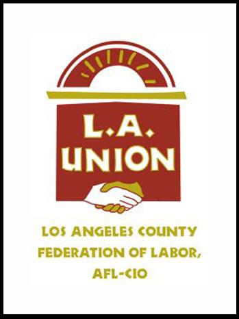 L.A. County AFL-CIO Logo - P 2011