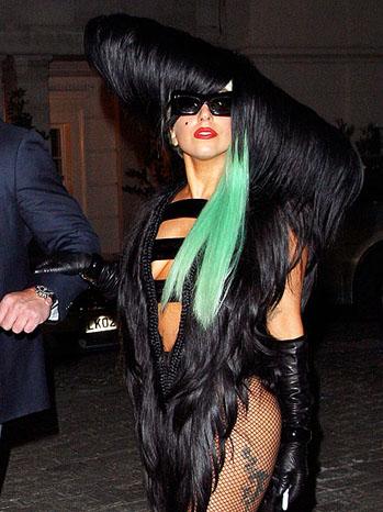 Lady Gaga Hair - P 2011