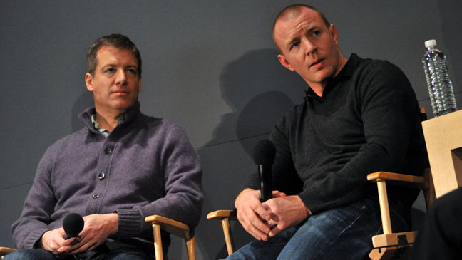 Lionel Wigram Guy Ritchie Soho Apple Store - H 2011