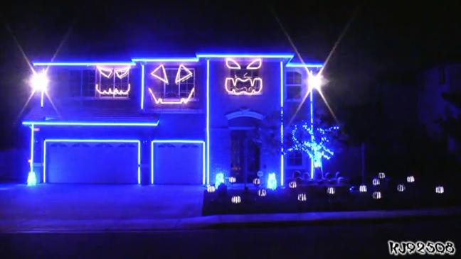 LMFAO Halloween house L