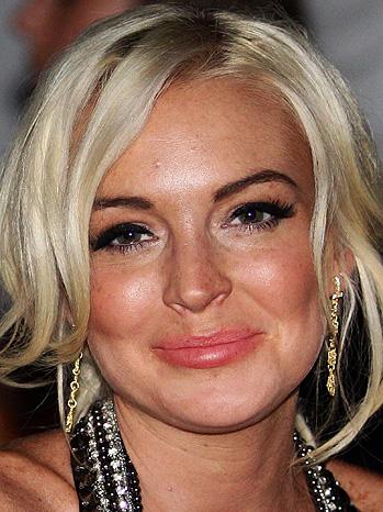 DOWN: Lindsay Lohan