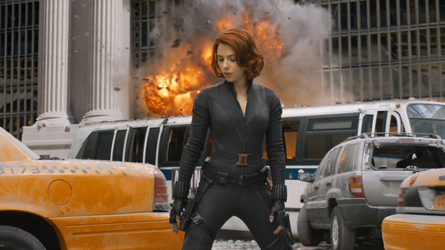 The Avengers - Movie Still: Scarlett Johansson - H - 2012