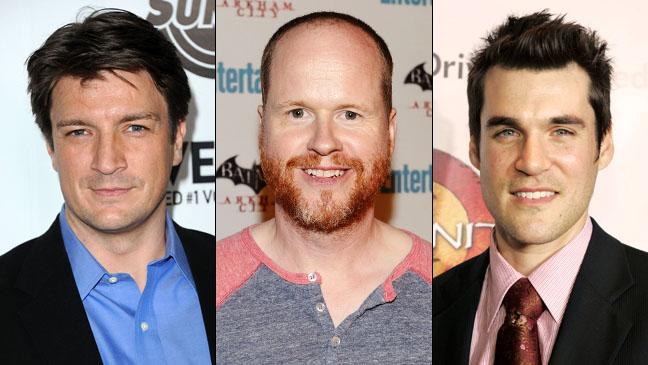 Nathan Fillion Joss Whedon Sean Maher - H 2011
