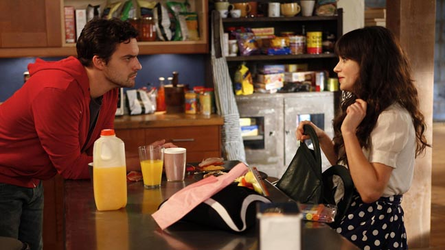 New Girl TV Still Kitchen Counter - H 2011