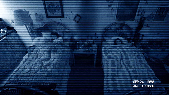 Paranormal Activity 3 Bed Press Still - H 2011