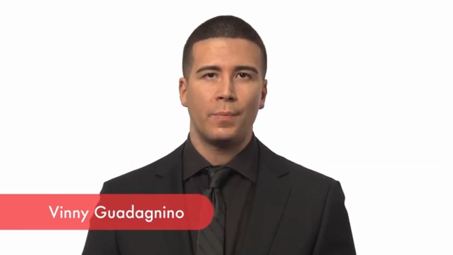 Vinny Guadagnino - SCREEN GRAB - GLAAD Video - H - 2011