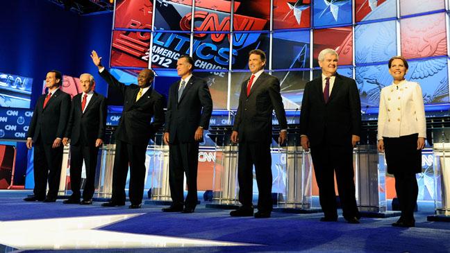 Republican Presidential Debate Las Vegas - H 2011