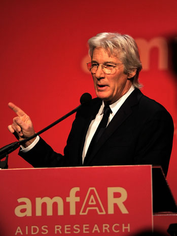 Richard Gere Podium - P 2011