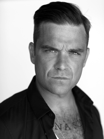 Robbie Williams publicity 2010