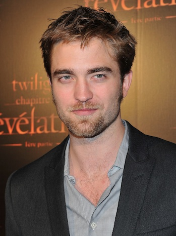 Robert Pattinson Paris 'Breaking Dawn' Premiere P 2011