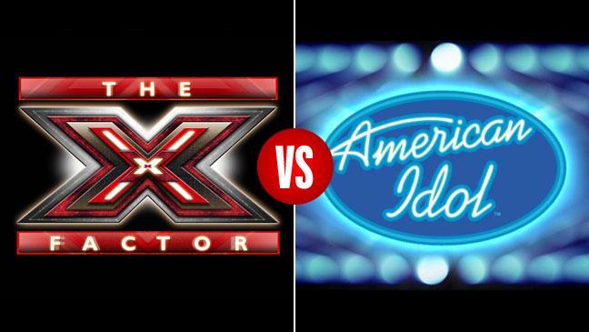 X-Factor vs. American Idol - H 2011
