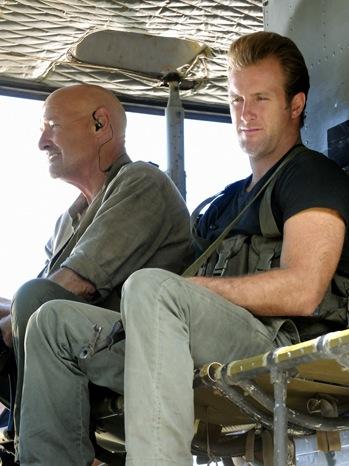 "Hawaii Five-0 - TV Still: ""Ki'ilua"", Terry O'Quinn and Scott Caan - P - 2011"