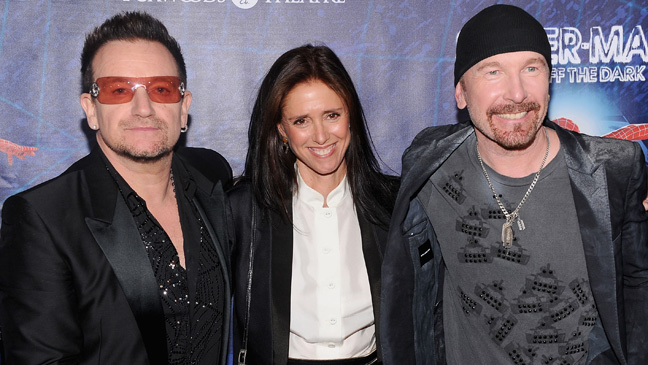 Julie Taymor Bono The Edge P 2011