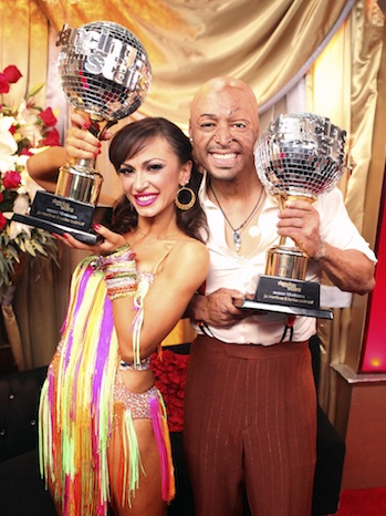 J.R. Martinez Karina Smirnoff DWTS Finale P 2011