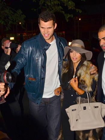 Kim Kardashian, Kris Humphries - Celebrity Sightings In New York City - P - 2011
