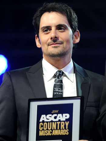 Brad Paisley - 49th Annual ASCAP Country Music Awards - P - 2011