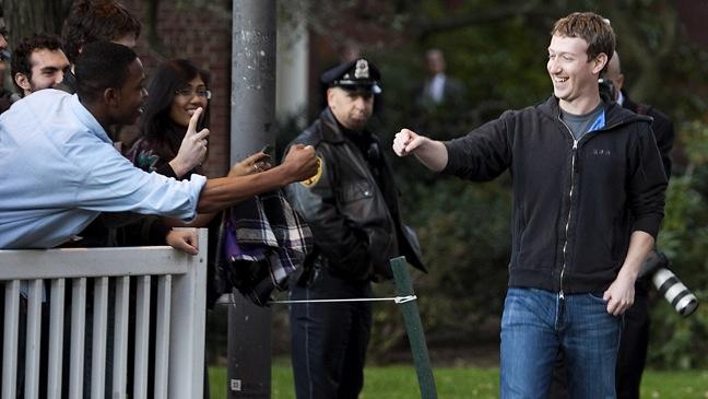 Mark Zuckerberg - Visits Computer Science Students at Harvard - H - 2011