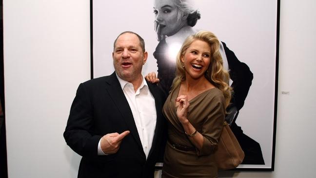 Harvey Weinstein, Christie Brinkley - 'Picturing Marilyn' at Milk Gallery - H - 2011