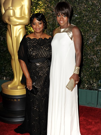 Octavia Spencer, Viola Davis - Academy Of Motion Picture Arts And Sciences' 3rd Annual - P - 2011