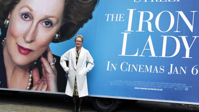 Meryl Streep Iron Lady Poster H 2011