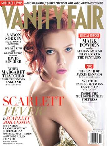 Scarlett Johansson - Vanity Fair Cover - P - 2011