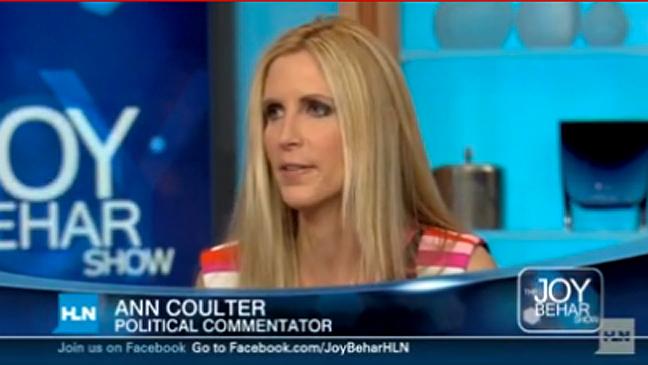 Ann Coulter Joy Behar Show - Screengrab - H 2011